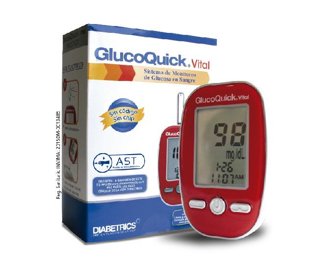 GlucoQuick Vital: Sistema de monitoreo de glucosa en sangre
